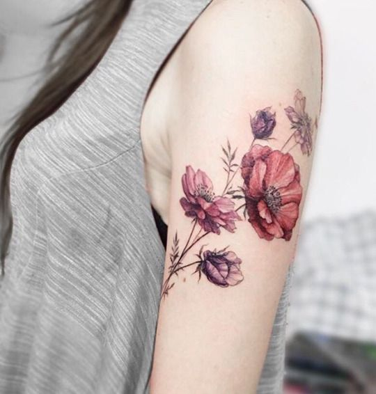 Tattoo For Womens Shoulder: 17 Best Ideas About Girl Shoulder Tattoos On Pinterest