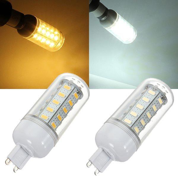 G9 LED Bulb 7W Warm White/White 36 SMD 5730 AC 220V Corn Light