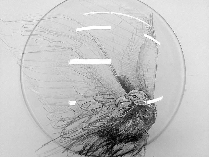 Michaela Kramulova / Design for a glass plate