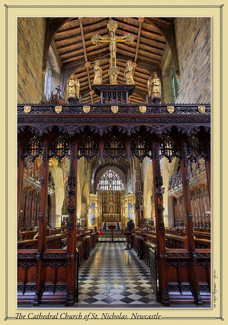 The Cathedral Church of St. Nicholas, Newcastle upon Tyne, Northumberland