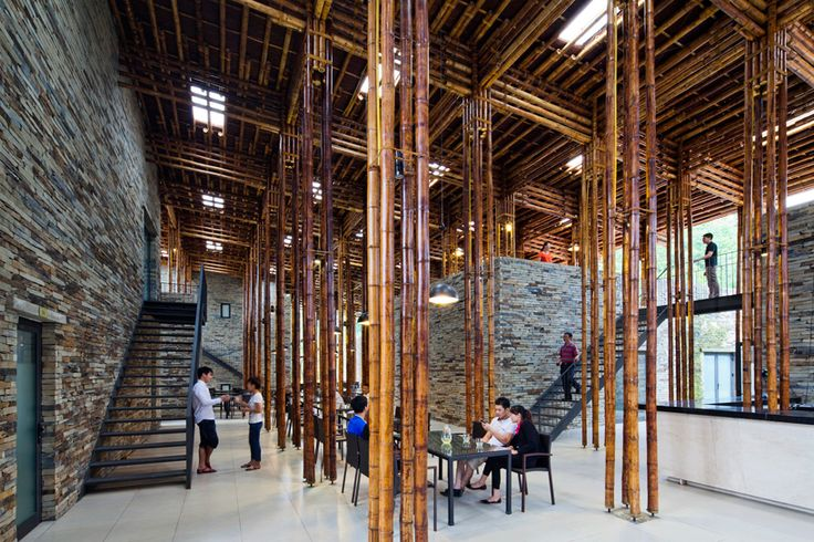 bamboo son la restaurant in vietnam by vo trong nghia architects - designboom | architecture