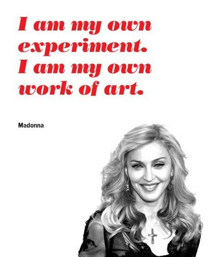 Madonna Inspirational Quotes: The Greatest Things Ever Said- Purple Clover #purpleclover