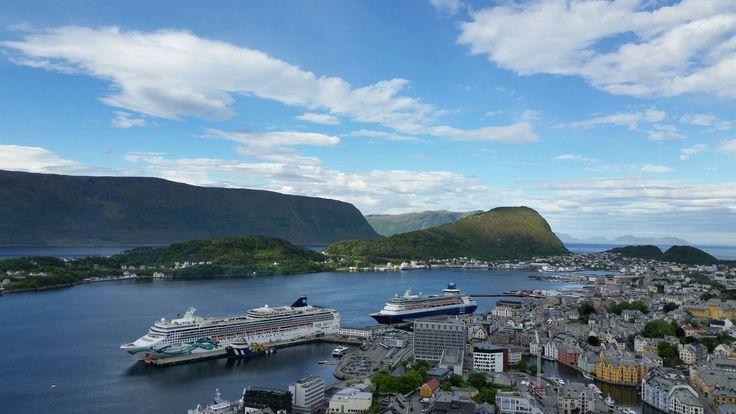 Alesund, Norway !