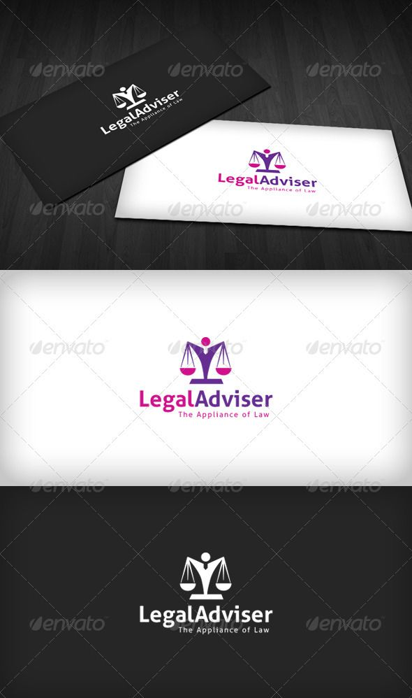 Legal Adviser Logo - Symbols Logo Templates