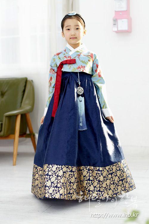 [[코튼]저고리-홍난초블루(LC-301)]