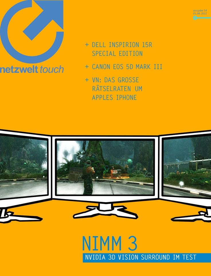 Drei 27-Zoll-Monitore, ein sündhaft teurer Gaming-Rechner und Nvidias 3D Vision Surround-Technik: In der vergangenen Woche versammelte sich die halbe netzwelt-Mannschaft regelmäßig vor dem Monitortrumm, setzte die 3D-Brillen auf und spielte, was das Zeug hielt. Aber lesen Sie in dieser Ausgabe von netzwelt Touch einfach selbst, was diese Apparatur zu leisten vermag.