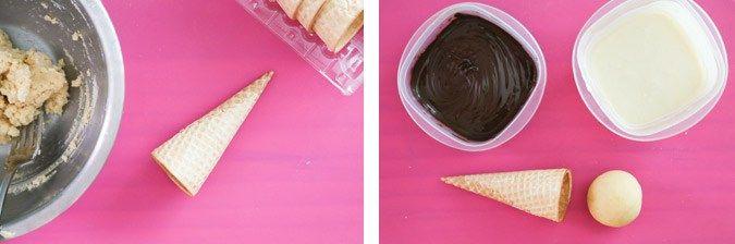Sweet Magazine - How to make an ice cream cone cake pop.