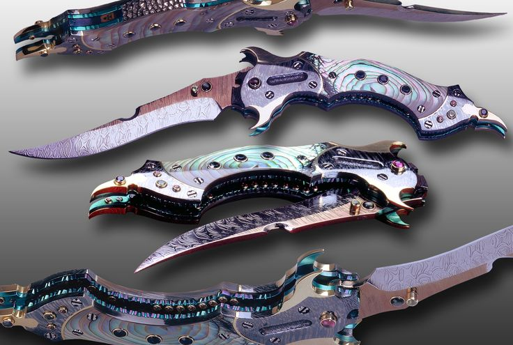 1000 Images About Knifes On Pinterest Damascus Steel
