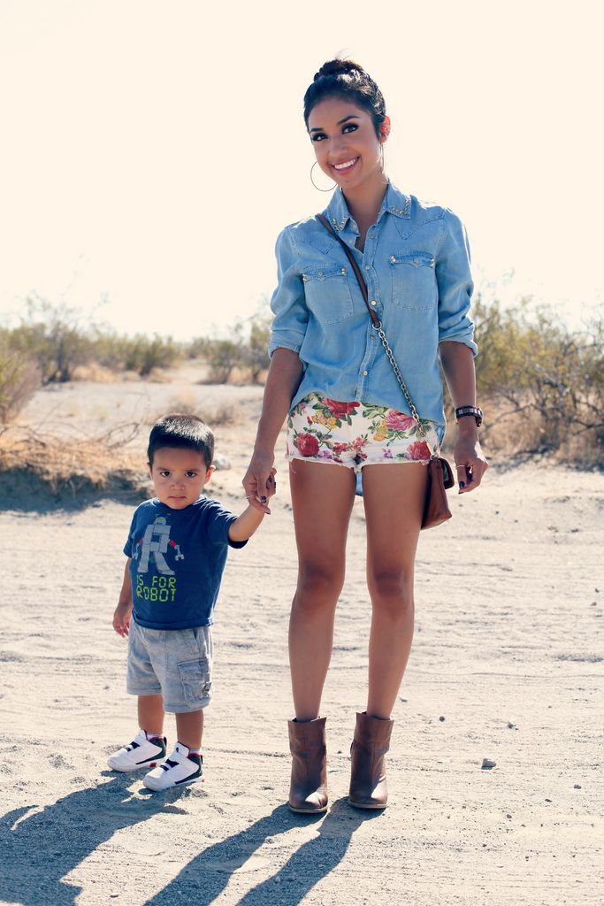 Fashionable Mom And Adorable Son Model Moms Inspiration Pinterest Mom Sons And
