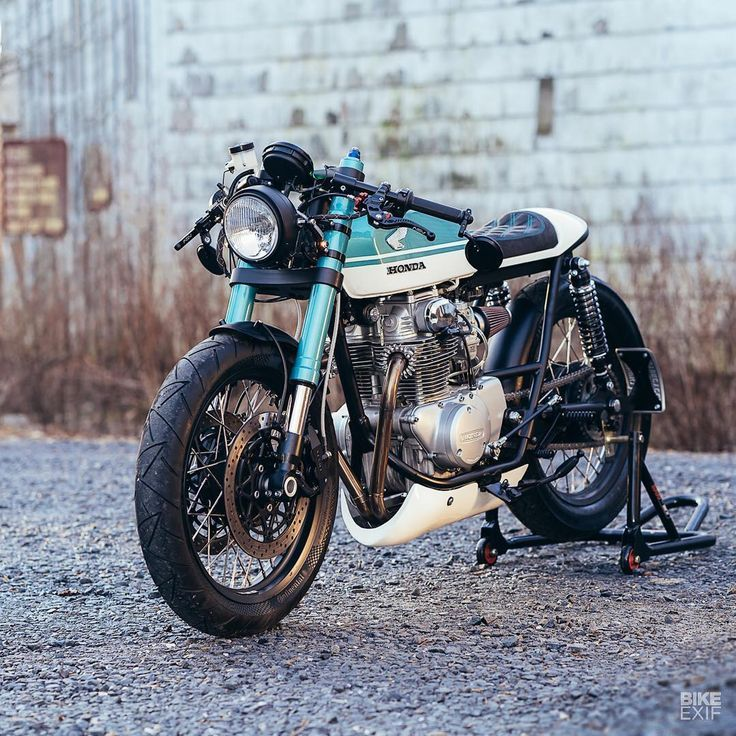 We were spoiled for choice when it comes to Honda CB Cafe Racer. But this hot rod