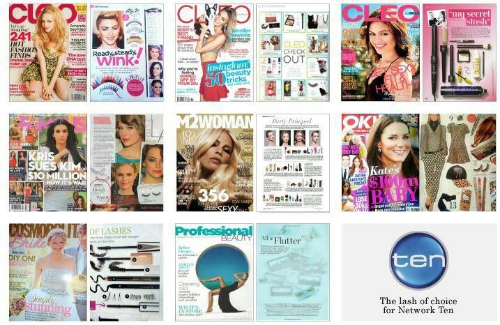 Our range featured in various press