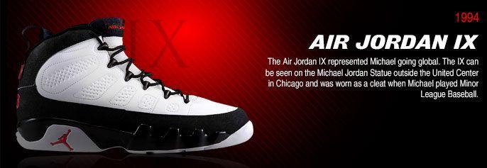 History of Air Jordan 9 #Airjordan9