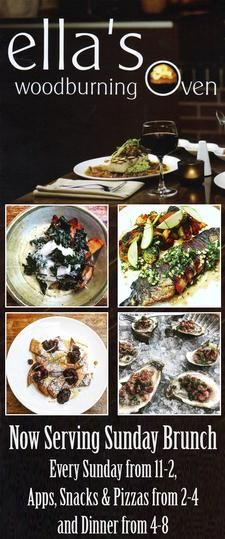 Ella's Wood Burning Oven Restaurant in East Wareham is offering $40 towards food, for only $20