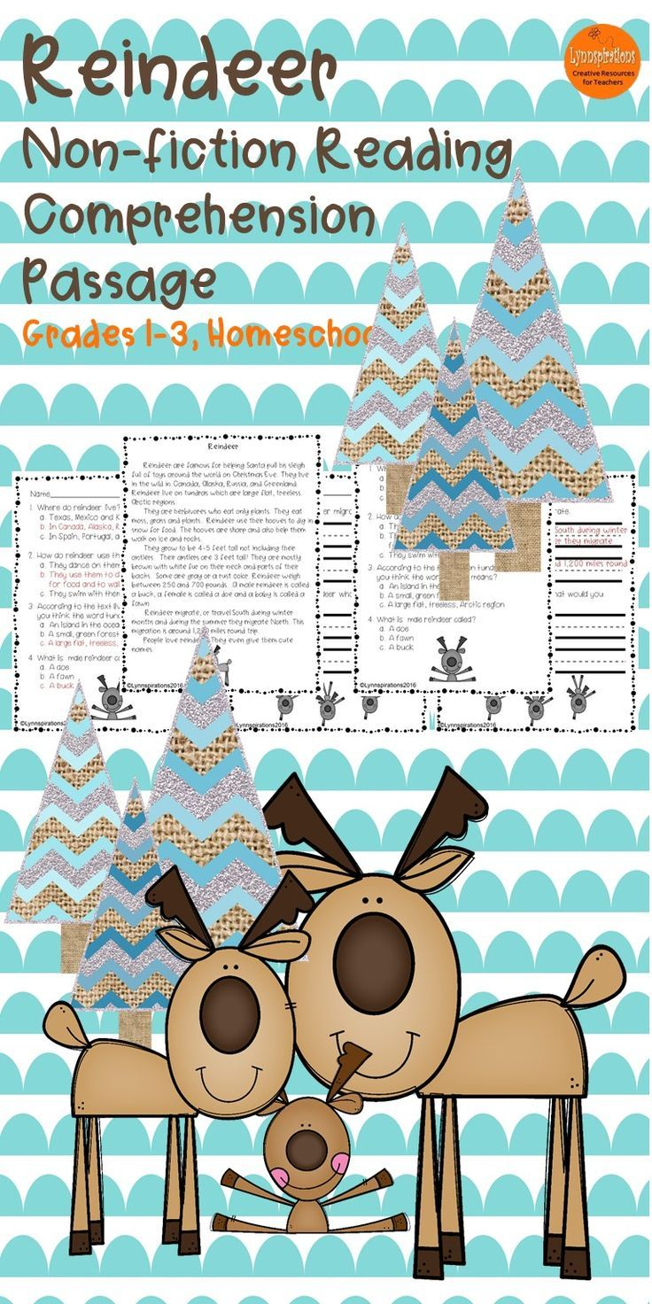 64 best Classroom-Reindeer Unit images on Pinterest | Christmas ...