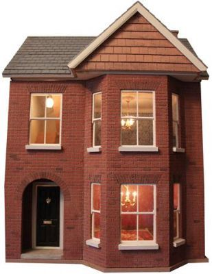 Dolls House Kit Building with free plans