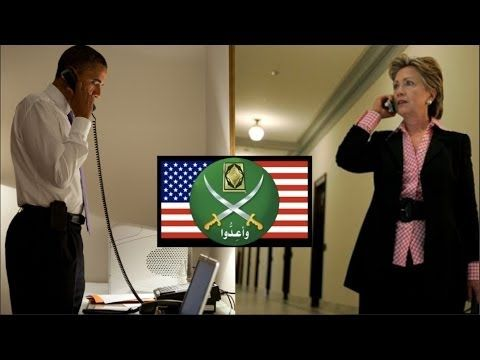 Obama, Clinton Charged in Muslim Brotherhood Conspiracy ~ Pub on Dec 21, 2013 ~ Video produced by http://www.westernjournalism.com Produced, written, and edited by Kris Zane. Narrated by Tom Hinchey