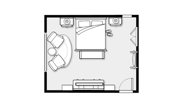 Master Bedroom layout from Hope, Longing, Life