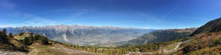 Vallée du Rhône depuis le tracouet