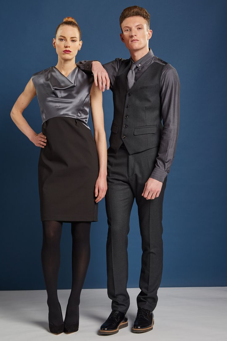 Sophisticated and quirky, glamourous and decadent, W London - Leicester Square crystallizes the quintessential dual personality of the British soul. We've recently updated the Welcome Desk uniform with this duo of glamourous male and female looks.