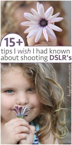 The best beginner tips for learning to shoot with a DSLR. If you love photography or want to start, this is MUST pin!