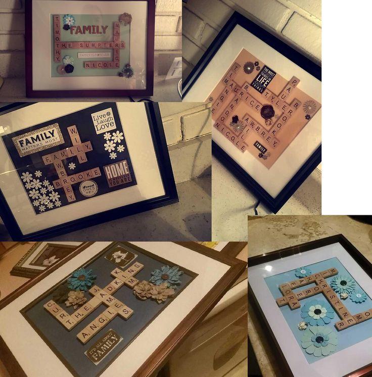 Perfect Last Name Picture Frames Festooning - Ideas de Marcos ...
