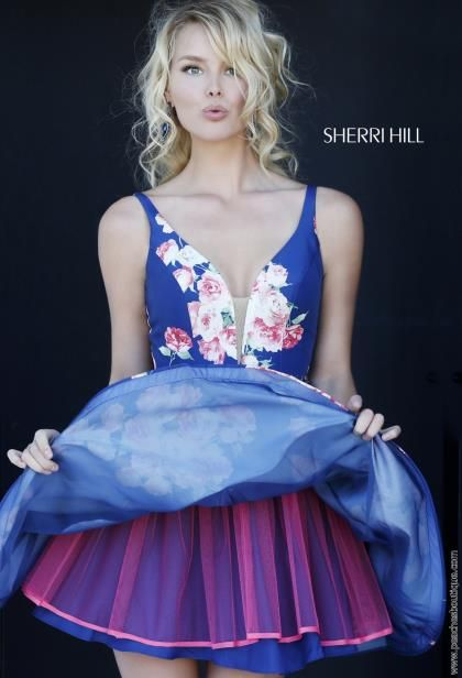 Sherri Hill Short Dress 32321