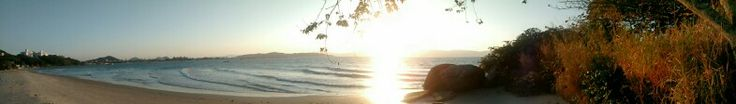 Sunset in Florianópolis #beach #brazil #motorola #motog