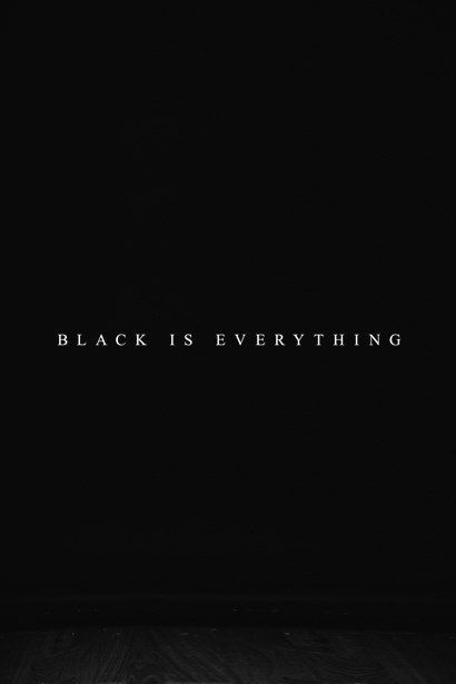 Now that it's officially fall, I thought I'd continue in my color series of posts and write about black, all black everything. While there's some debate if black is actually a col…