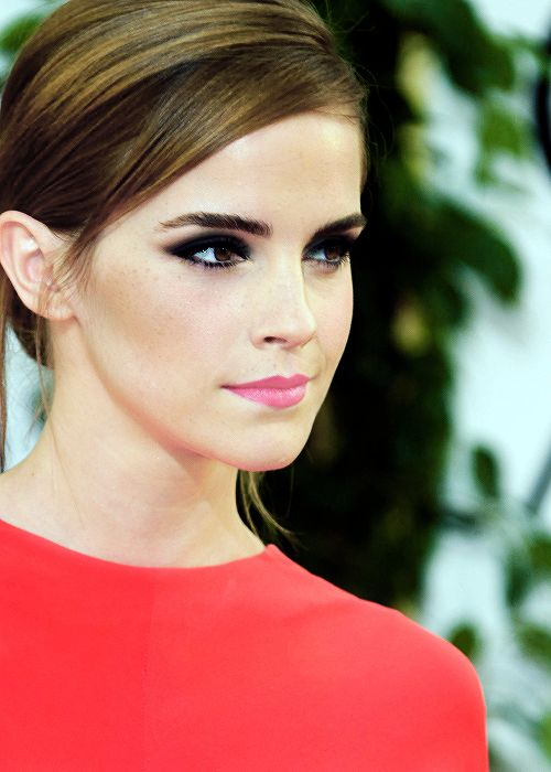 Emma Watson at the 71st Golden Globe Awards