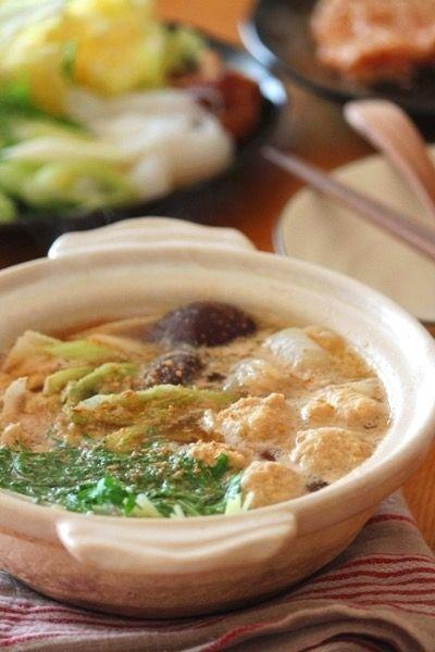 胡麻生姜鍋。 by へんこ山田製油 | レシピサイト「Nadia | ナディア ...