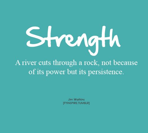 How fitting is this for today Miss Ashlie?  You are nothing if not persistent baby girl.