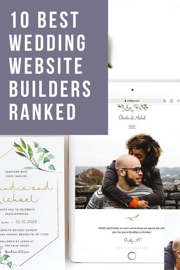 The 10 Best Wedding Website Builders Ranked 2020 Edition Joy In 2020 Wedding Website Builder Wedding Website Personal Wedding Website