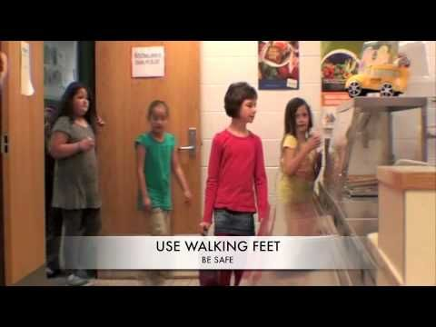 Positive Behavior Intervention Support Video: Cafeteria Behavior Would be great to make some these...with different music though....and perhaps a little more enthusiasm