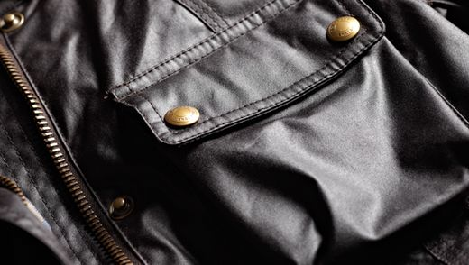 Jacket | Men Signature Six Ounce Waxed Cotton Roadmaster Jacket | Belstaff