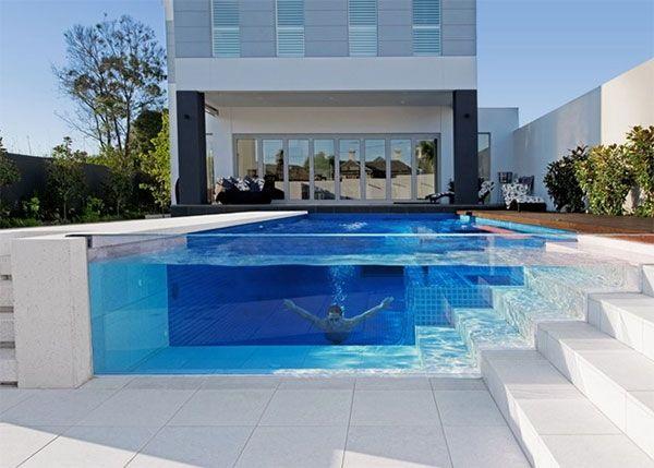 Transparent pool. legit