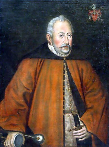Portrait of Hetman  Jan Zamoyski. before 1602