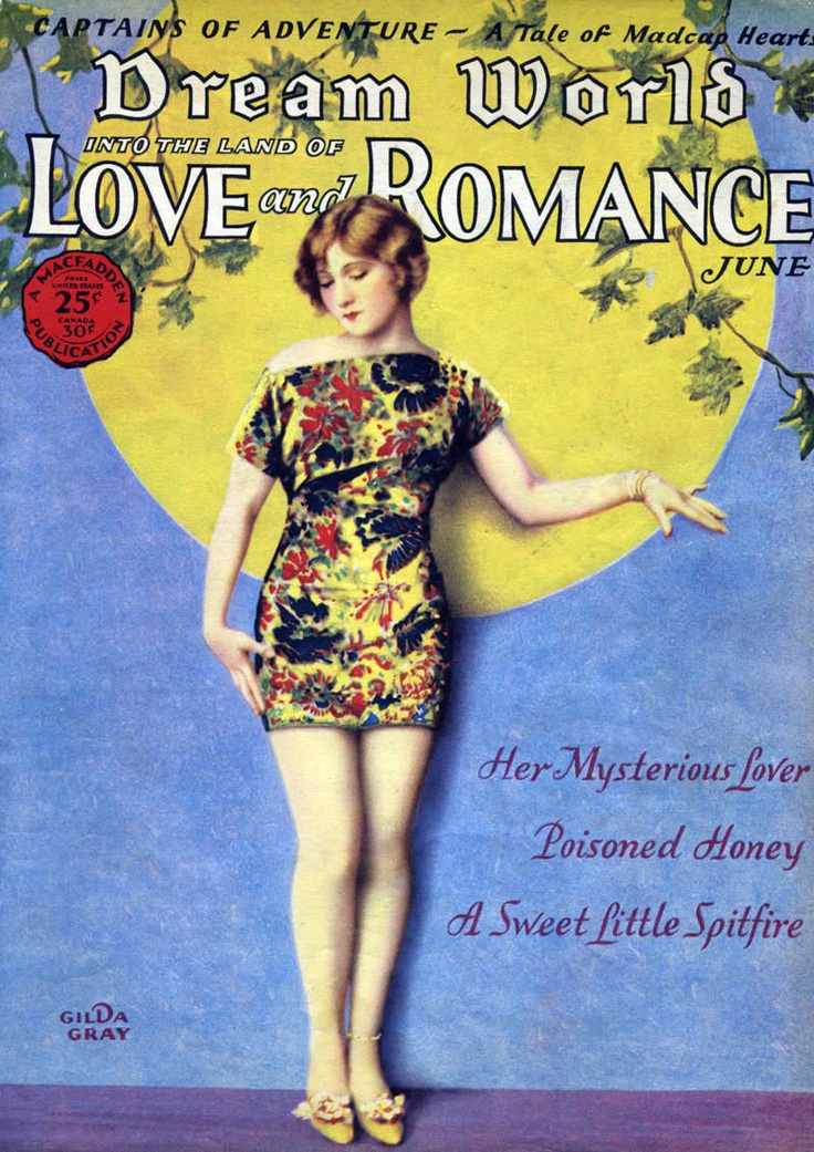 Dream World: Into the Land of Love and Romance. Her Mysterious Lover, Poisoned Honey, A Sweet Little Spitfire. circa June 1929