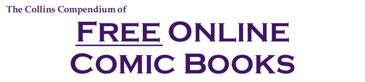 The Collins Compendium of Free Online Comic Books
