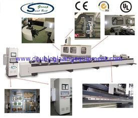 China Digital Display Aluminium Window Machinery For Profile 3 Axis CNC Machining Center supplier