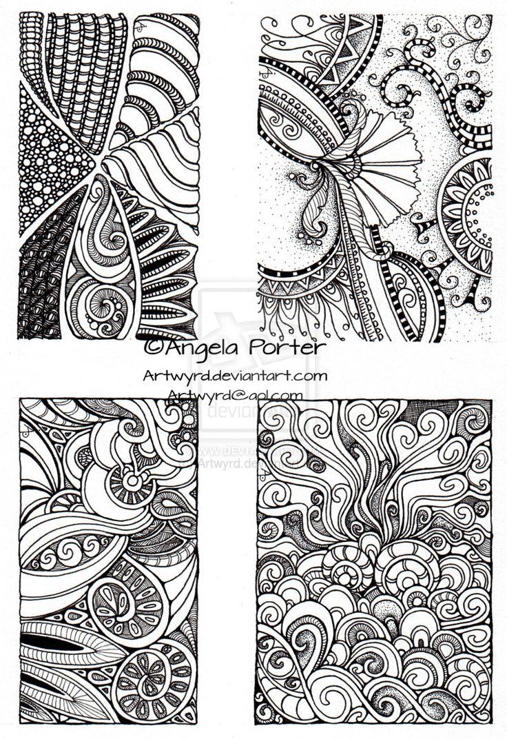 Four small tiles by Artwyrd.deviantart.com on @deviantART