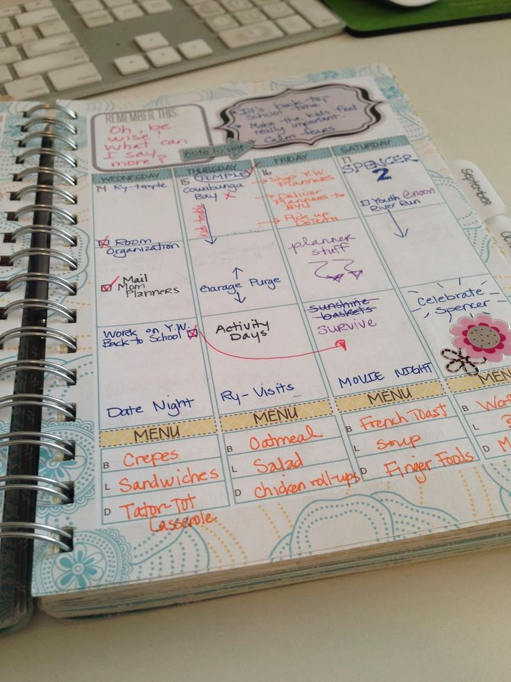 Ideas on Using the Mormon Mom Planner | IntheLeafyTreetops - InTheLeafyTreetops.com
