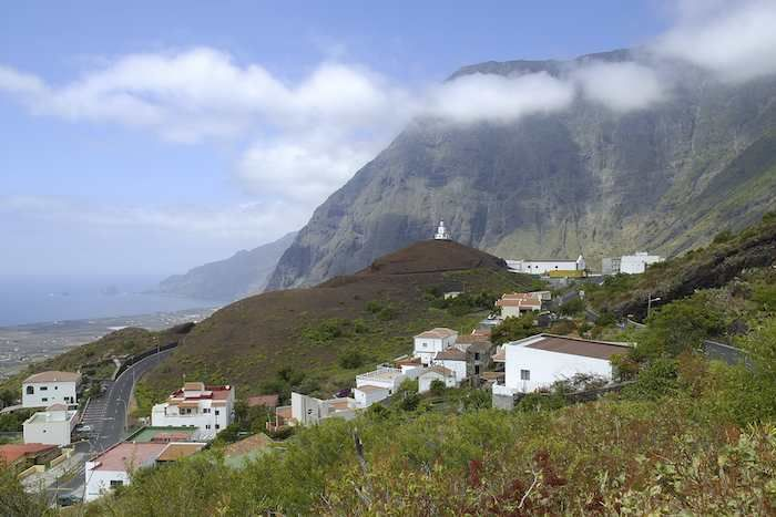 Frontera, with Las Puntas beyond #ElHierro