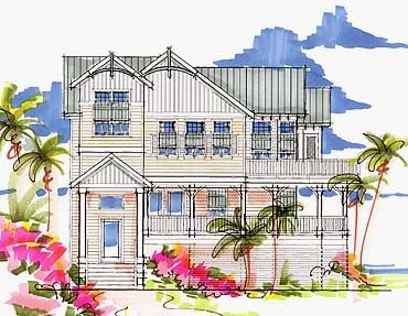 44 best elevated floor plans beach images on pinterest for Best coastal home plans