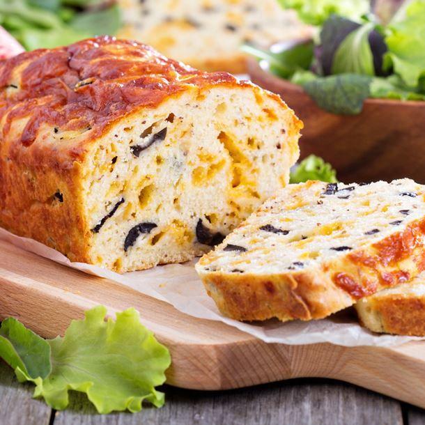 Cake aux olives et jambon dukan