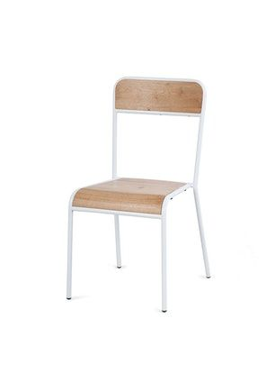 Furniture By Design - Skhol Chair  - White - The Big Furniture Clearance - Onceit