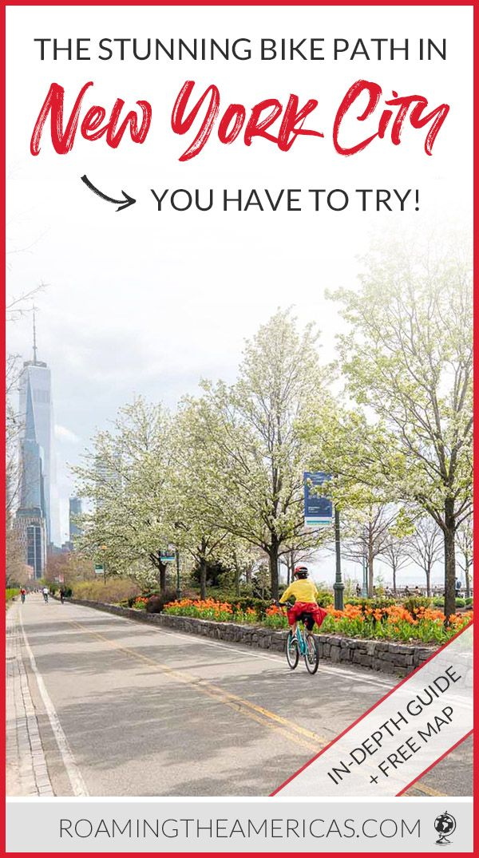 Car Free Nyc Bike Path Hudson River Greenway Biking Guide New