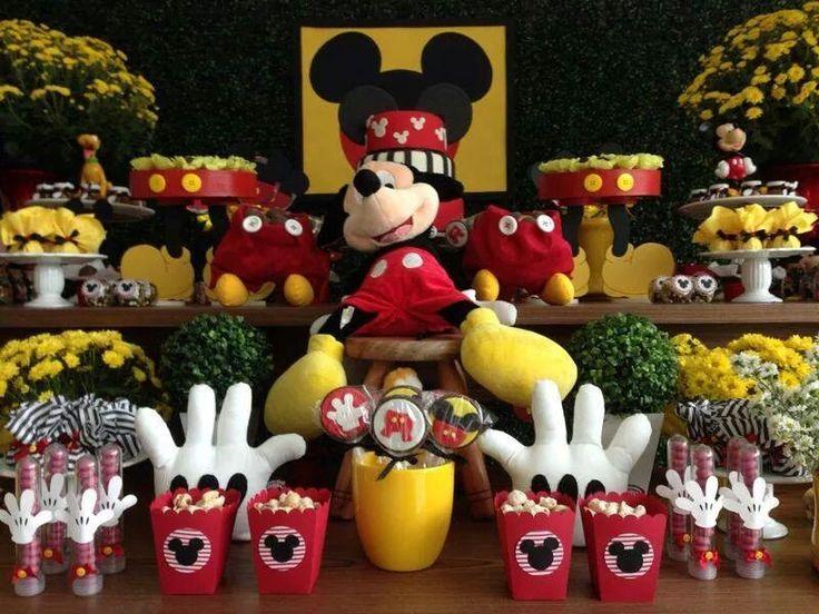 Mesa de doces Festa Mickey