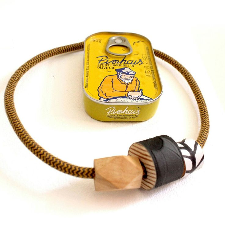 1001 necklace gialla a zig zag!