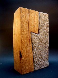 wood and stone Bernard Goethals / Conceptuel / Installation / Sculpteur / artiste belge