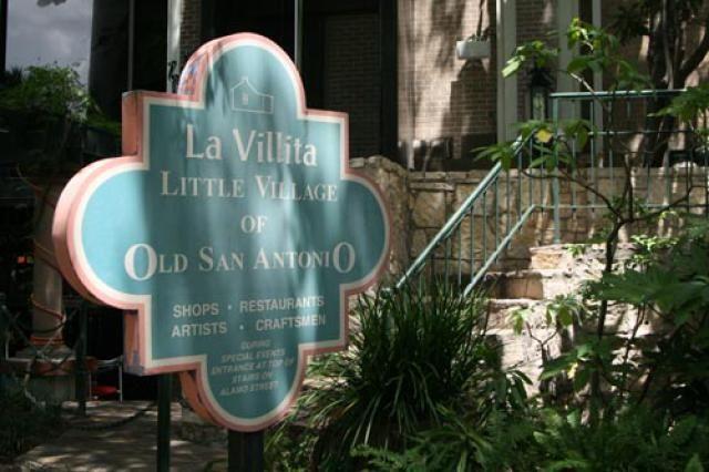 Attractions in San Antonio, Texas: La Villita